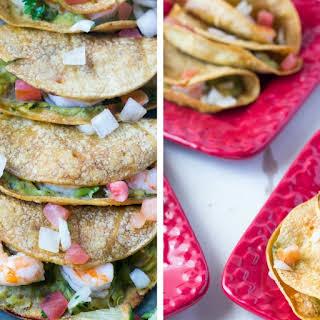 Mini Shrimp Tacos.