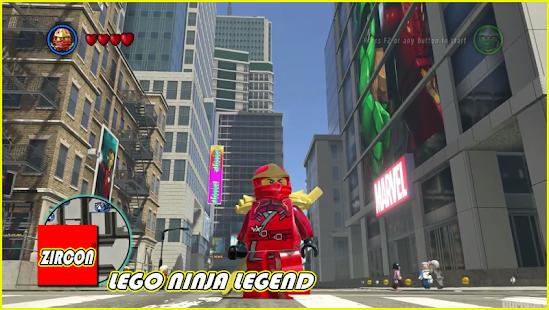 Zircon Of LEGO Ninja Legend - náhled