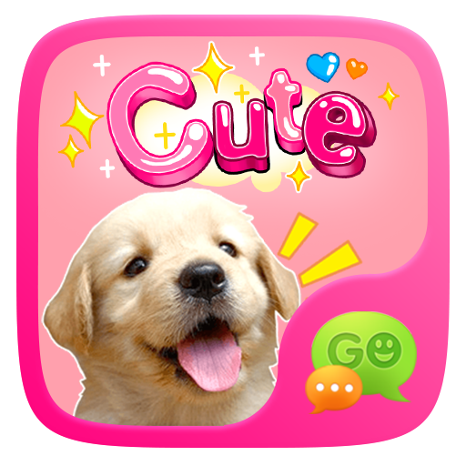 (FREE) GO SMS CUTE STICKER 個人化 LOGO-玩APPs