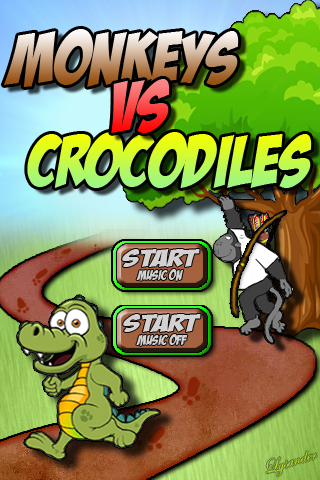Monkeys Vs Crocodiles