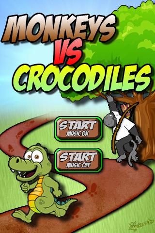 Monkeys Vs Crocodiles
