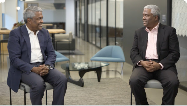 Video featuring Thomas and George Kurian, CEOs of Google Cloud and NetApp.