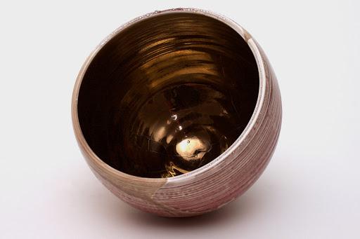 Bruce Chivers Ceramic Raku Tea Bowl 07