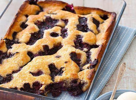 Texas-style Blueberry Cobbler Recipe