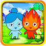 Redboy and Bluegirl adventures run APK icon