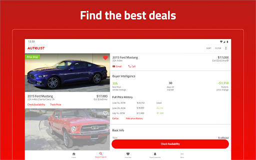 Autolist - Used Cars and Trucks for Sale - Apps on Google Play