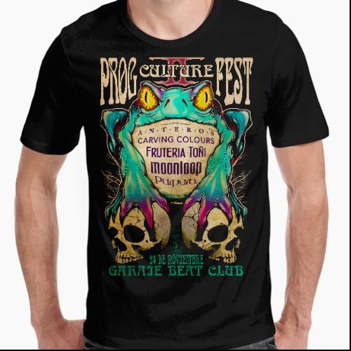 camiseta prog culture fest