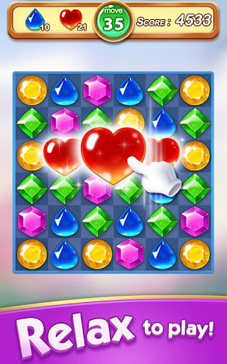 Jewel & Gem Blast - Match 3 Puzzle Game apktram screenshots 9