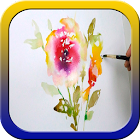 Flower Painting Tutorials icon