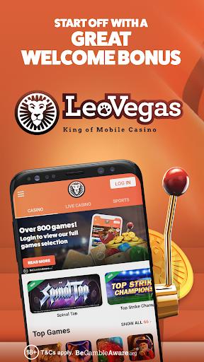 """Картинки по запросу """"Leovegas App"""""""