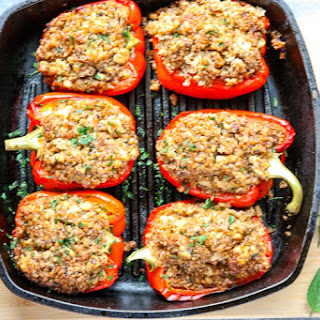 Ground Chicken Stuffed Peppers Recipes.