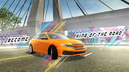 Car Simulator Civic: City Driving Mod Apk (No Ads) 4