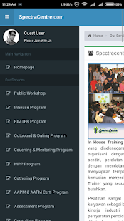 Training SpectraCentre- screenshot thumbnail