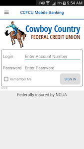 CCFCU Mobile Banking screenshot 0