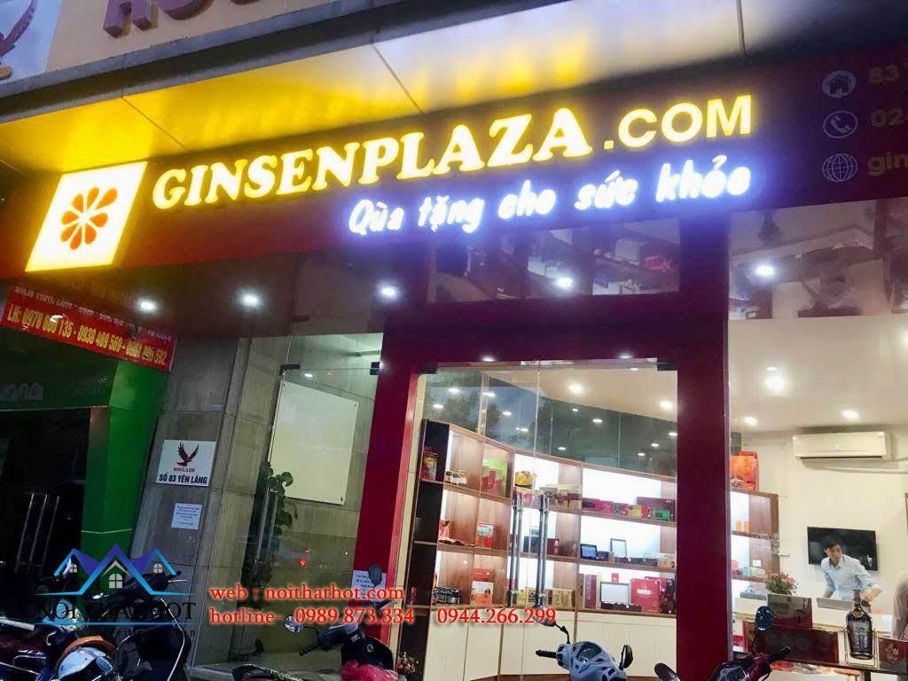 Thiết kế cửa hàng sâm Ginsenplaza.com 5