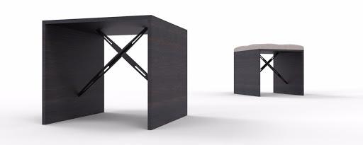 stools from a66 catamaran