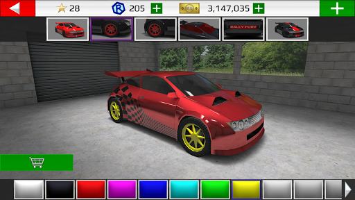Rally Fury - Corrida de carros de rally extrema screenshot 2