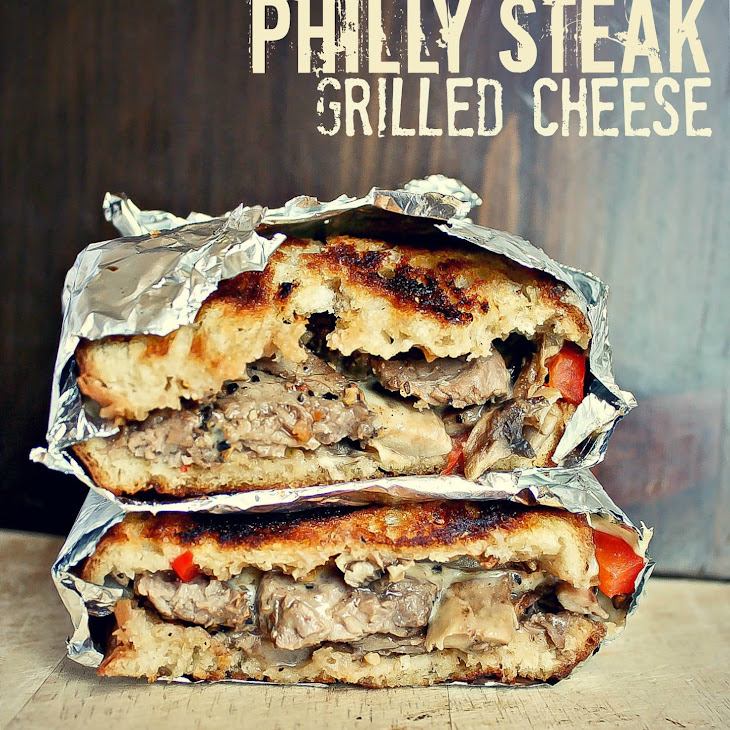 Philly Steak Grilled Cheese Recipe