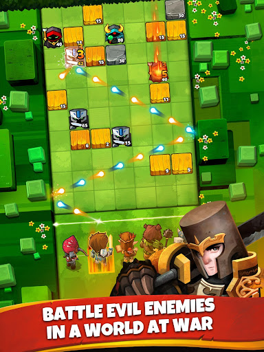 Battle Bouncers - RPG Legendary Brick Breakers modavailable screenshots 9