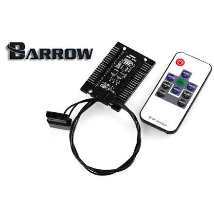Barrow RGB lyskontroller, fjernbetjent, 8 uttak