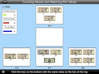 American Counting Matching- screenshot thumbnail