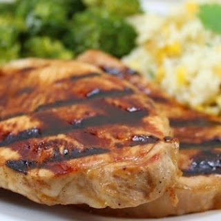 Sweet Dijon Pork Chops