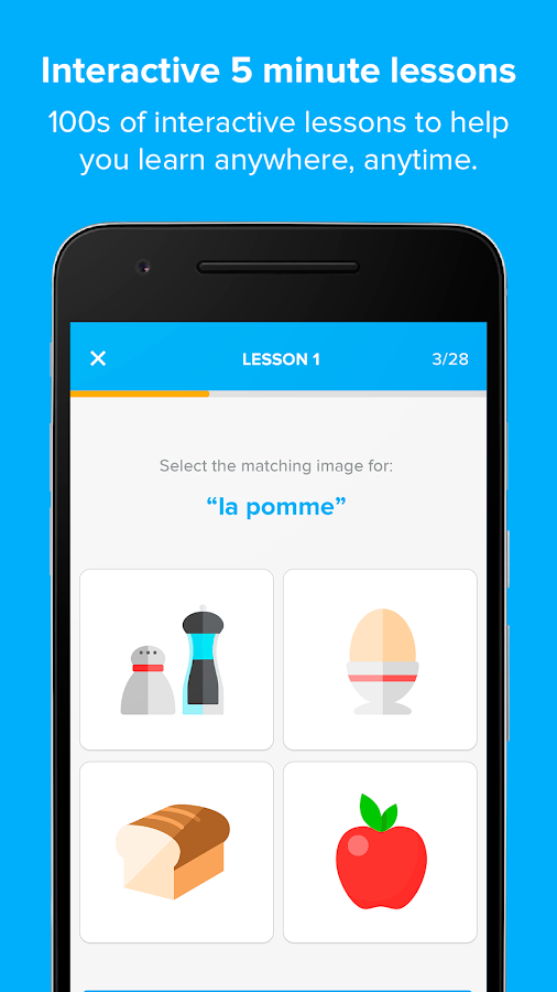 Language Learning FlashAcademy- screenshot