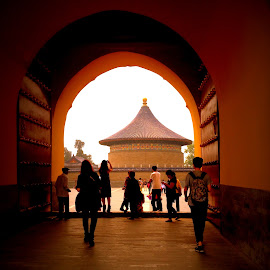 Temple of Heaven by Rebecca Pollard - Buildings & Architecture Statues & Monuments (  )