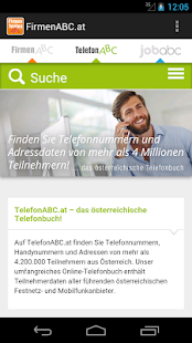 FirmenABC.at & TelefonABC.at- screenshot thumbnail