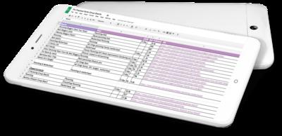pinterest group board spreadsheet