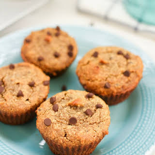Almond Flour Chocolate Chip Muffins.