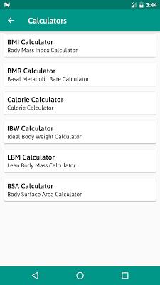 BMI Calculator - screenshot