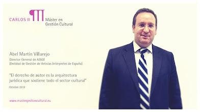 Photo: Abel Martín Villarejo - Entidades de Gestión colectiva de derechos @AISGespana