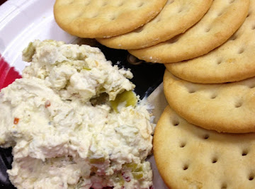Three Cheese Pepperoncini Spread Recipe