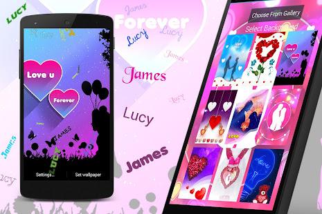 My Love Name Live Wallpaper