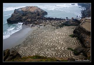 Photo: 'Contours', Sutro Baths, SF.