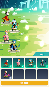 Masketeers : Idle Has Fallen Mod Apk Download For Android and Iphone 6
