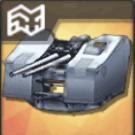 100mm連装高角砲T0