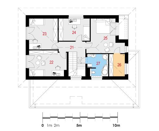 Idealis I PG2 - Rzut piętra