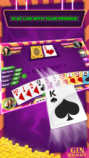 Gin Rummy Multiplayer  captures d'écran 6