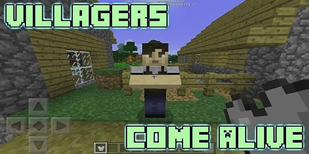 Villagers Come Alive Mod for MCPE - náhled