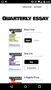 Quarterly essay tim flannery