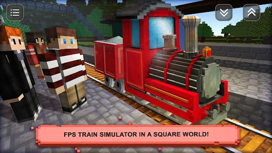 Train craft sim build drive android apps on google play for Build your own house simulator