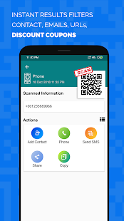 Multiple qr barcode scanner Pro Screenshot