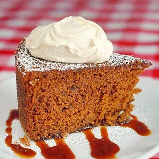 Triple Ginger Gingerbread Cake
