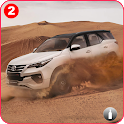 Fortuner:  Extreme Offroad Hilly Roads Drive icon