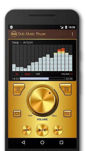 Dub Music Player + Equalizer & Free Themes 2.7 screenshots 2