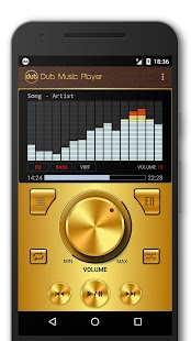Dub Music Player - Audio Player & Music Equalizer Screenshot