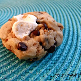 Smores Cookies – #glutenfree #vegetarian