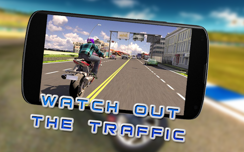 Real Motor Bike City Racing Ride Simulator Game 3D - náhled